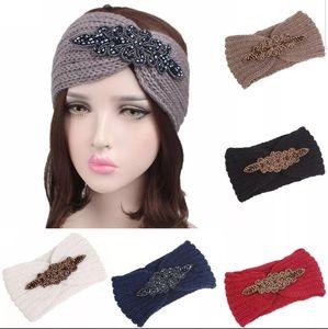 Knitted Headband Girl Warm Crochet Turban Elastic
